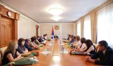 On 26 June a solemn ceremony of awarding took place at the Artsakh Republic President's residence