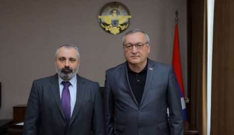 Meeting of Foreign Minister David Babayan with National Assembly Chairman Artur Tovmasyan