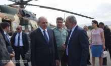 Artsakh Republic President Bako Sahakyan met Prime-  minister of the Republic of Armenia Nikol Pashinyan