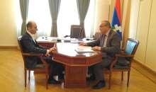 Arthur Tovmasyan Received   the Human Rights Defender of Artsakh