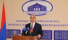 Итоговая пресс-конференция главы МИД Республики Арцах Масиса Маиляна