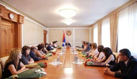 У Президента Республики Арцах состоялась торжественная церемония