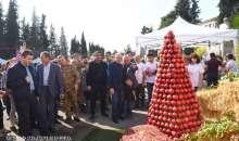 Президент Республики Арцах присутствовал на фестивале граната