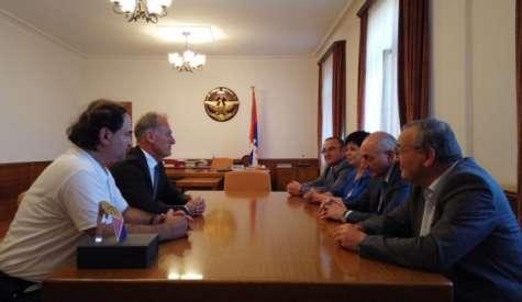 Встреча с Робертом Эммияном и Ваграмом Тадевосяном